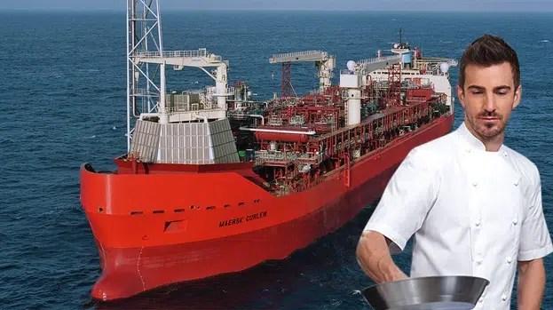 offshore hotelaria petróleo ajudante