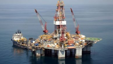 shell woodside brazil oil rig