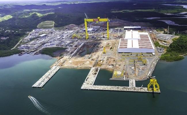 estaleiro industria naval enseada Bahia