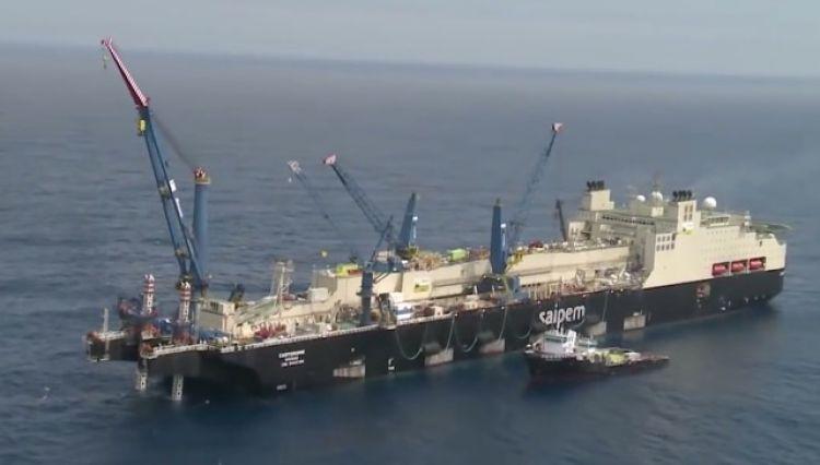 Oleoduto saipem offshore petroleo noruega
