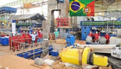 Portugal Brasil empregos industria
