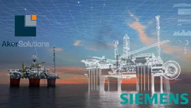 Aker Solutions e Siemens parceiras digitais offshore