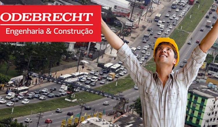 Odebrecht BRT belém obras vagas
