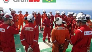 GranIHC plataforma petróleobaciade campos contrato
