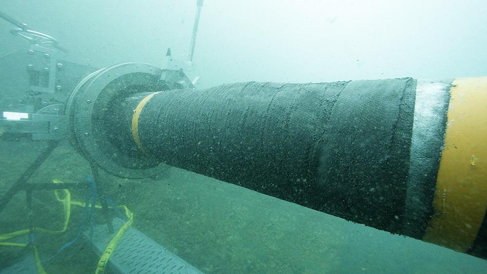 Duto Submarino Petróleo