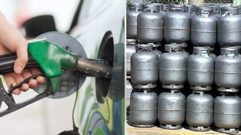 gasoline - cooking gas - ethanol - consumers