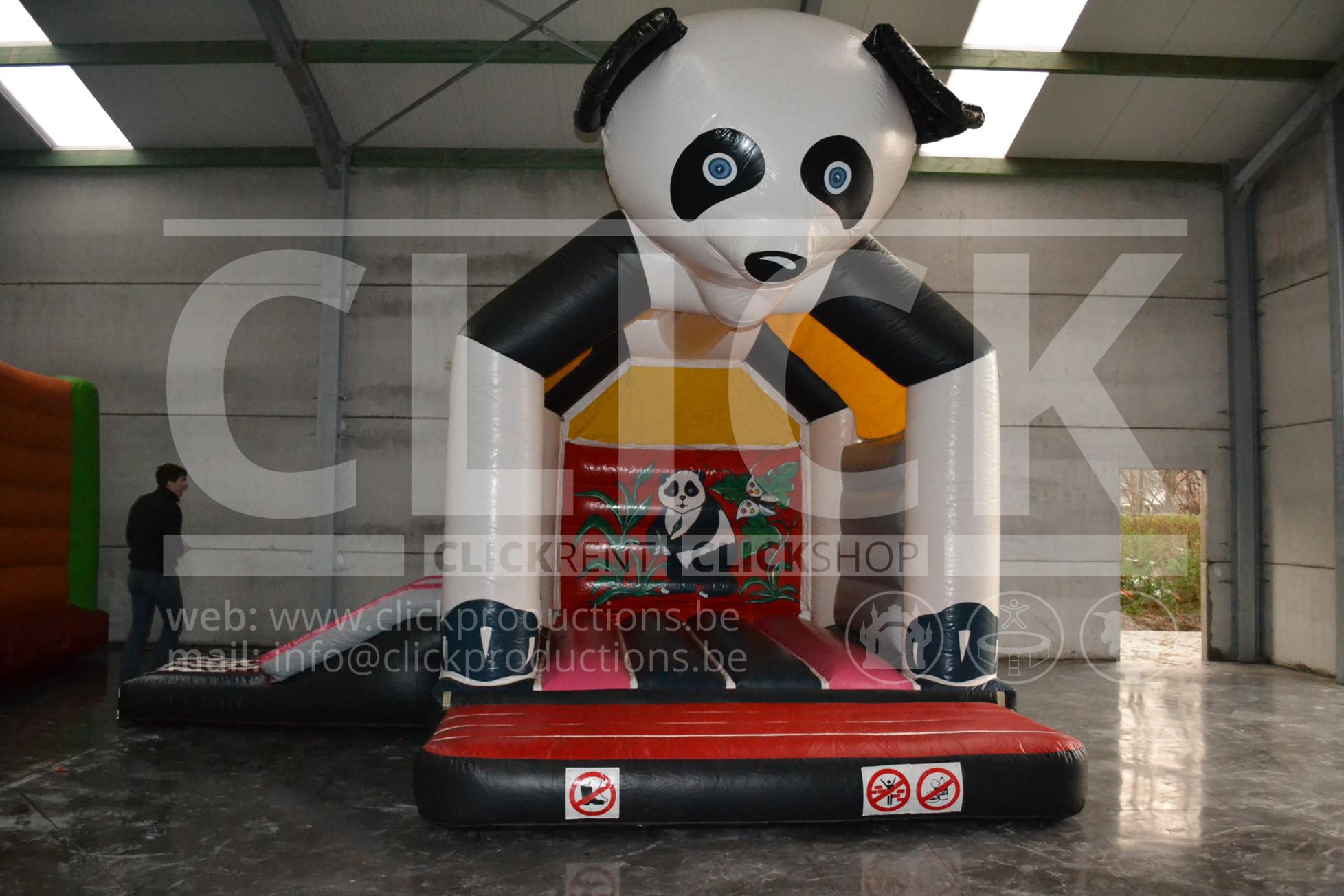 Springkasteel Pandabeer klein