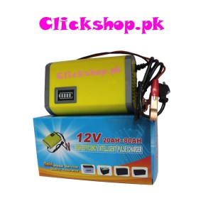 12 V 20AH - 80 AH High Efficiency Intelligent Plus Charger