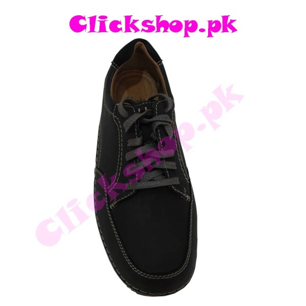 Black Color Shoes for Young Boy - Brand Clark 01