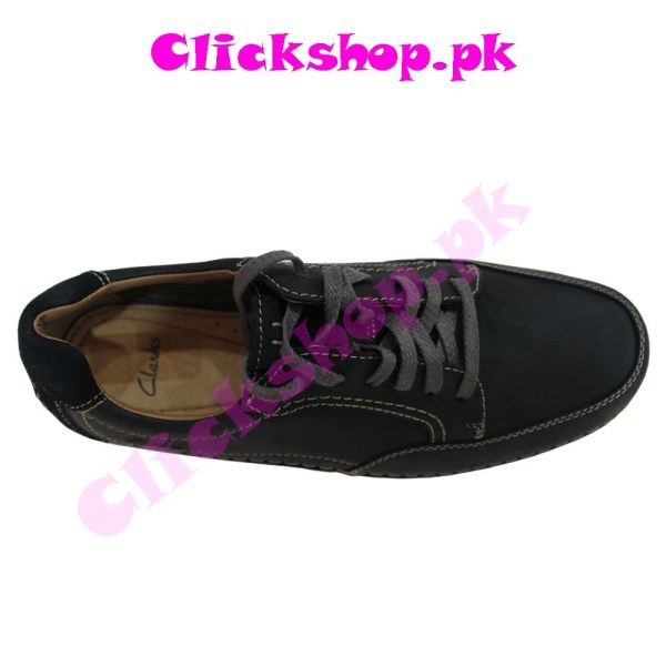 Black Color Shoes for Young Boy - Brand Clark 02