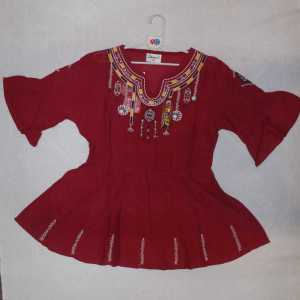 girl red frok - online shop in pakistan