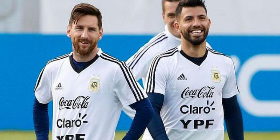 Messi se sumó a un nuevo streaming del Kun