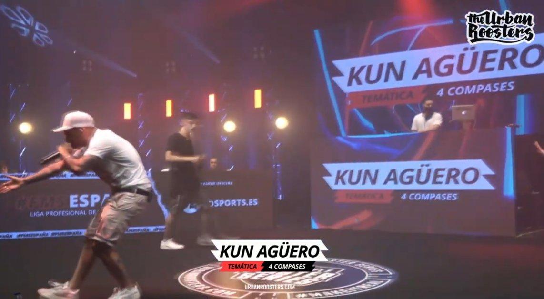 Sweet Pain no le tuvo piedad al Kun agüero en la FMS