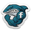 Shark Shiver FaceBook Badge