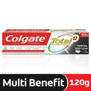 Colgate Toothpaste - Total Charcoal, Anticavity - ClickUrKart