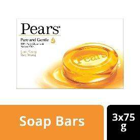 Pears Pure and Gentle Bathing Bar, 75g (Buy 3 Get 1 Free) - ClickUrKart