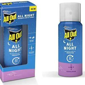 All Out All Night Mosquito and Fly Spray, 30ml - ClickUrKart