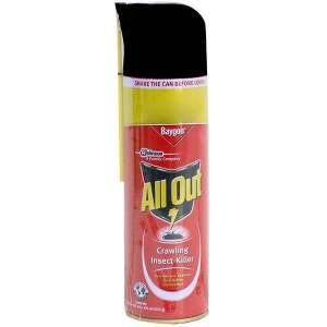 All Out Crawling Insect Killer (Red) - 320ml with 33% Extra - ClickUrKart