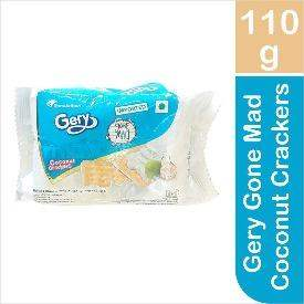 Gery Gone Mad Coconut Crackers, 110g - ClickUrKart