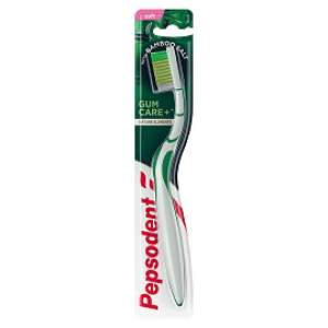 Pepsodent Gum Care+ Tooth Brush With Bamboo Salt - Soft - 2pc - ClickUrKart