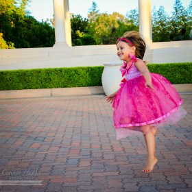 Connie Hanks Photography // ClickyChickCreates.com // dancing, jumping, twirling ballerina