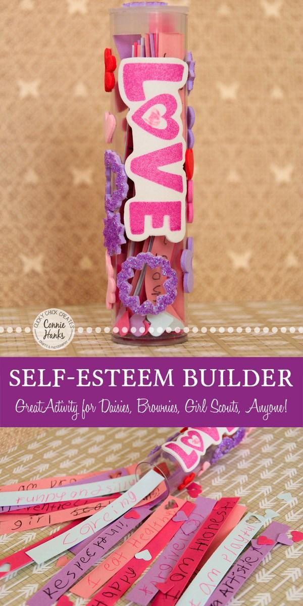 Daisy Love Tubes Positive Self Esteem Feeling Crafty