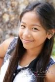 Connie Hanks Photography // ClickyChickCreates.com // Tween head shots, photos, child, fresh, faced, sweet, innocent