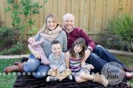 Connie Hanks Photography // ClickyChickCreates.com // San Diego newborn photography, family photo session, family photography, baby girl