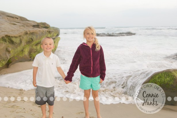 Connie Hanks Photography // ClickyChickCreates.com // family photos, San Diego family photography, family photo session, family photography, siblings, Windansea beach, La Jolla, CA