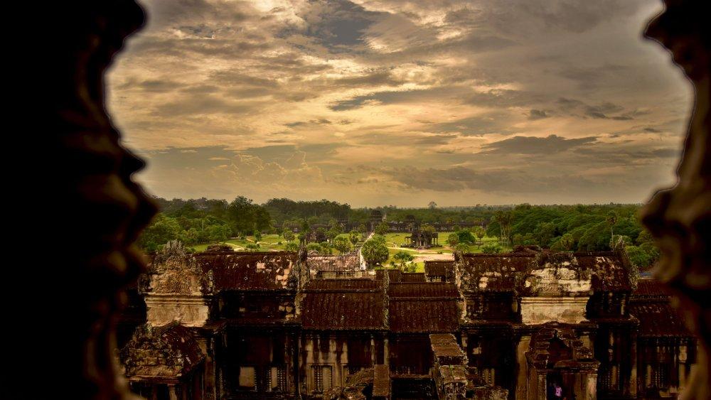 Visitare Angkor Wat vista panoramica