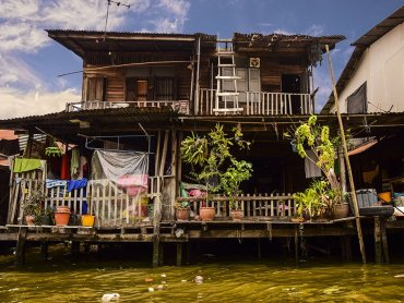 Bangkok abitazioni a Thonburi