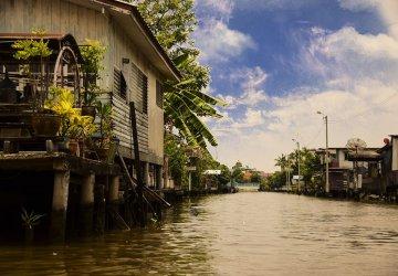 Bangkok i canali di Thonburi