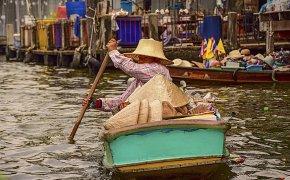 Cosa vedere a Bangkok canali di Thonburi