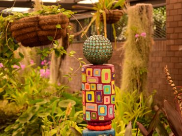 Brisbane Botanic Gardens Scultura in mostra
