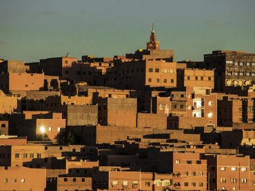 Marocco Città Tipica dell\\\\\\\'area dell\\\\\\\'Atlante