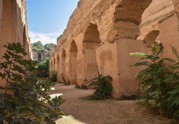 Marocco Meknes Interno del Heri Souani