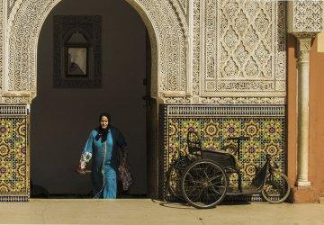 Marrakech Moschea nella Medina vecchia