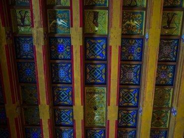Palazzo di Braganca Particolare delle decorazioni del Soffitto