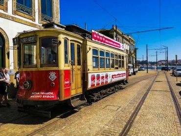 Porto Il vecchio tram numero 1