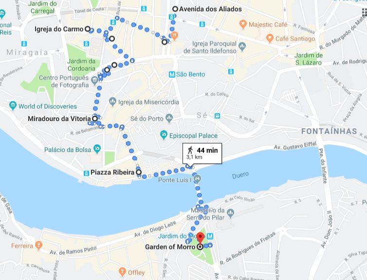 Porto itinerario 1
