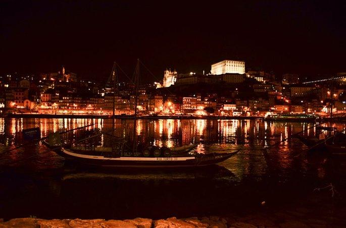 Vila nova de Gaia: il Douro di Sera