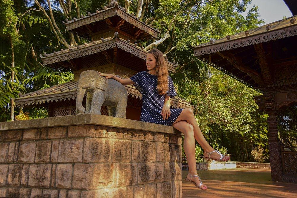 L'atmosfera preziosa dell'area della Pagoda