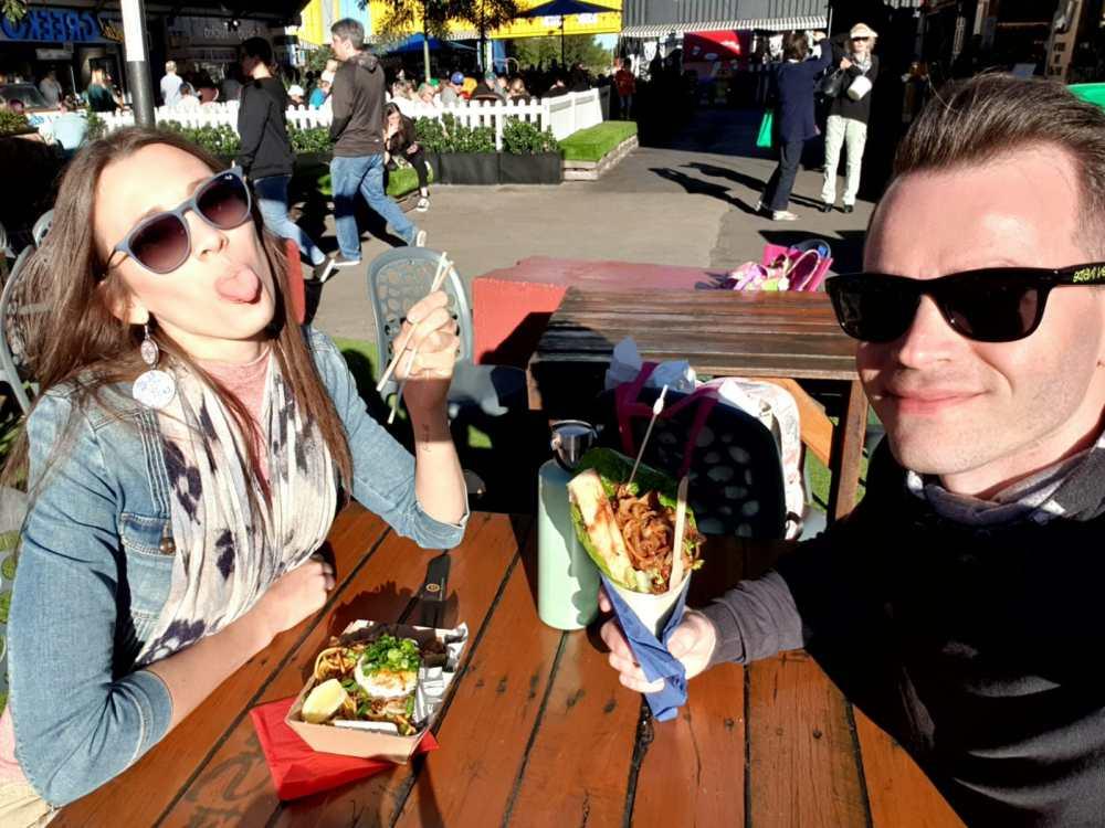 Street Food a Brisbane