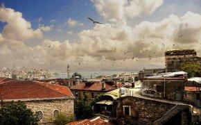 Istanbul vista dai tetti del Gran Bazar