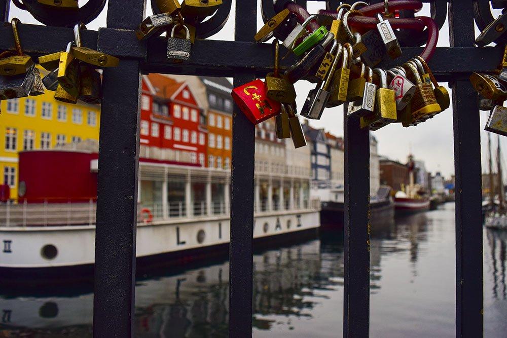 Nyhavn Copenaghen Dettaglio