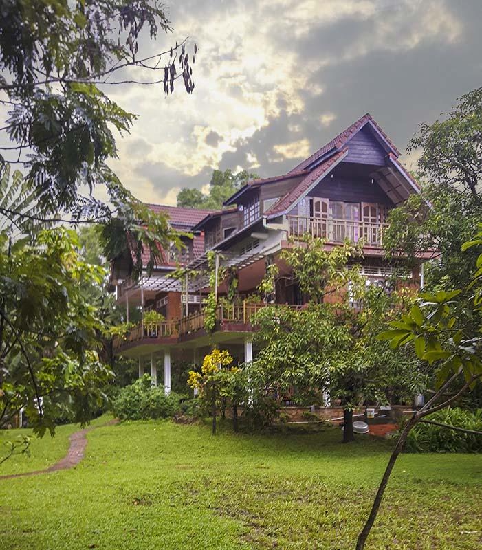Resort a Kampot in Cambogia