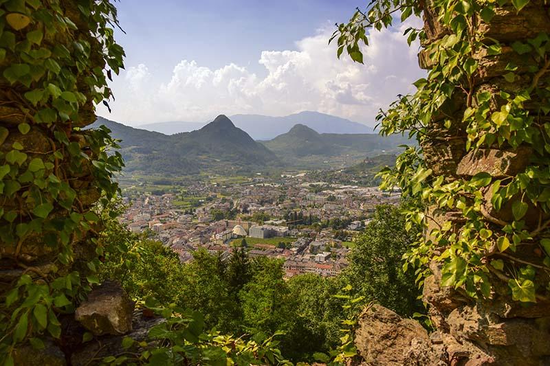 Cosa-Vedere-In-Valsugana-Castello-Pergine-Vista