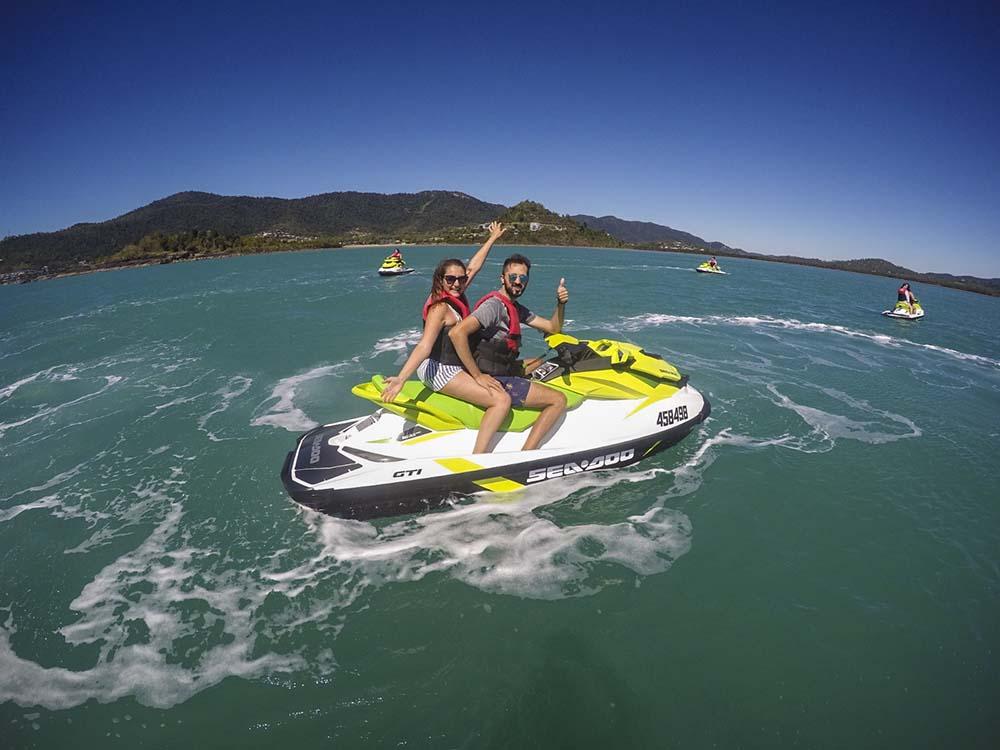 Australia: Jet Ski sull'oceano