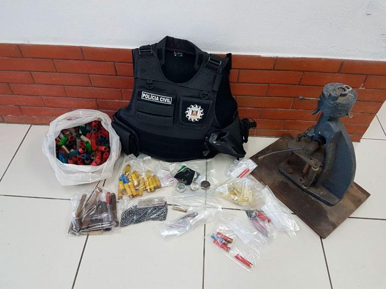 Polícia prende munições em Barra do Ribeiro
