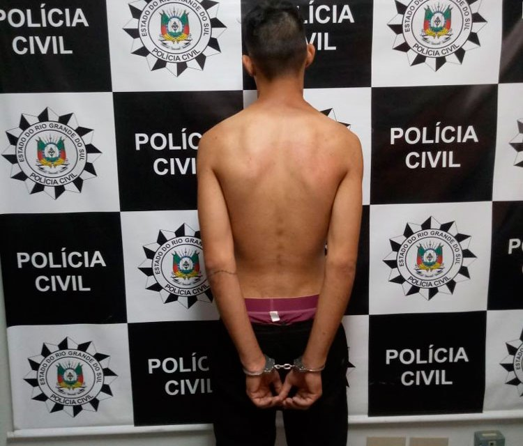 Polícia prende homem por extorsão